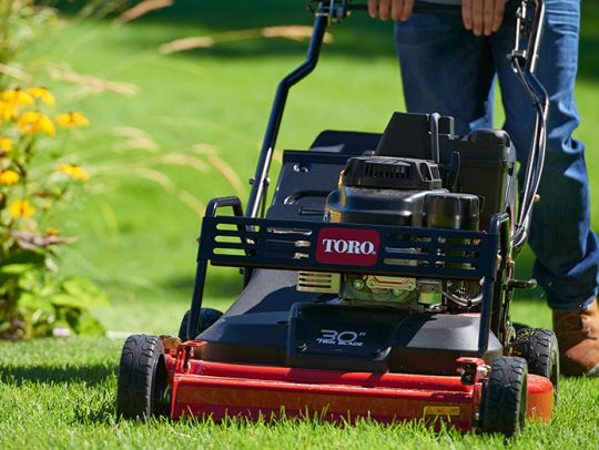 POWER_EQUIPMENT TORO WALK_BEHIND_MOWERS IMPACT_PROTECTION