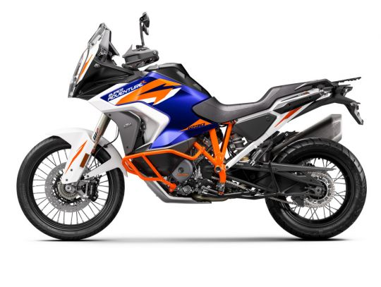 MOTORCYCLES KTM ADVENTURE MY21 1290ADV_R 370539_MY21KTM1290SUPERADVENTURER-90-Left