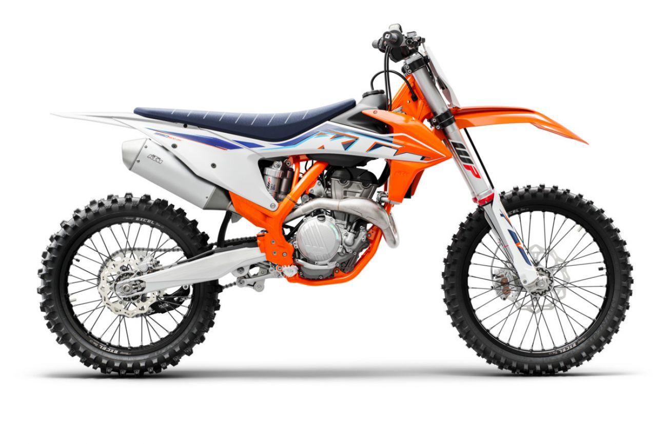 MOTORCYCLES KTM MOTOCROSS MY22 377771_350SX-FMY2290-right
