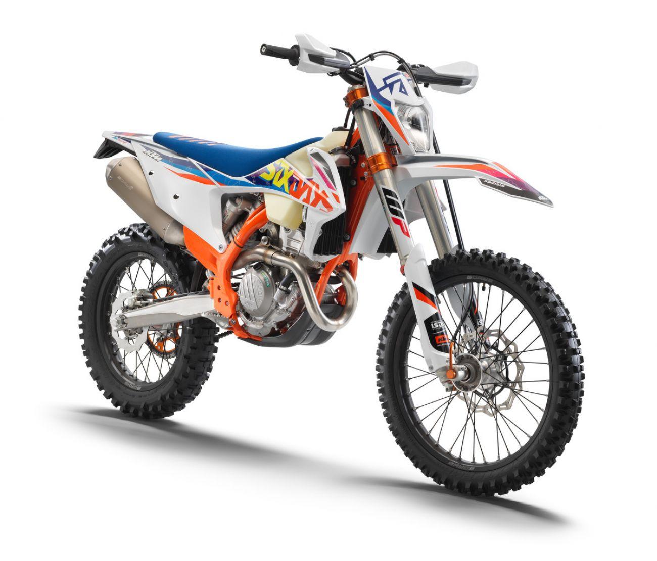 MOTORCYCLES KTM ENDURO MY22 386923_350EXC-FSixDays_front_ri_MY22