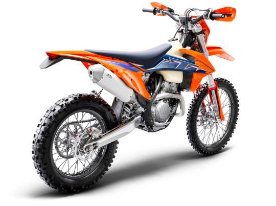 MOTORCYCLES KTM ENDURO MY22 378293_350EXC-FMY22Rear-Right