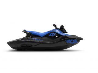 WATERSPORTS SEA-DOO_IMAGERY REC_LITE MY22 SEA-MY22-SPARK-3up-IBR-TRIXX-SS-90-Dazzling-Blue-SKU00066NF00-Studio-RSide-NA-3300x2475