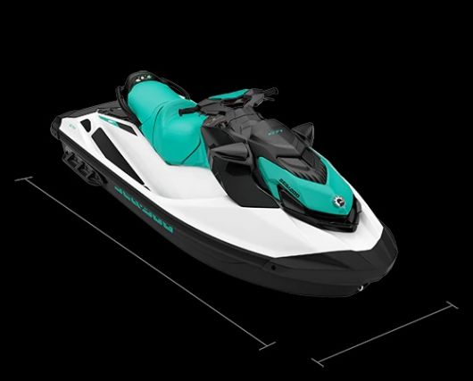 WATERSPORTS SEA-DOO_IMAGERY RECREATION GTI_DIMENSIONS