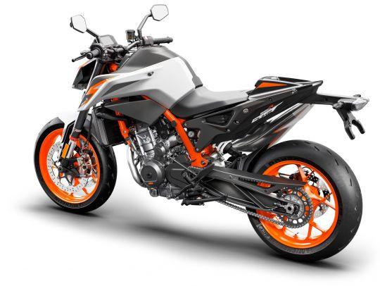 MOTORCYCLES KTM STREET MY20 890DUKER MODEL_MY20_890DUKER_REARLEFT
