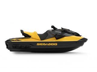 WATERSPORTS SEA-DOO_IMAGERY PERFORMANCE MY22 GTR-230 SEA-MY22-GTR-STD-SS-230-Millenium-Yellow-SKU00036NC00-Studio-RSide-NA-3300x2475