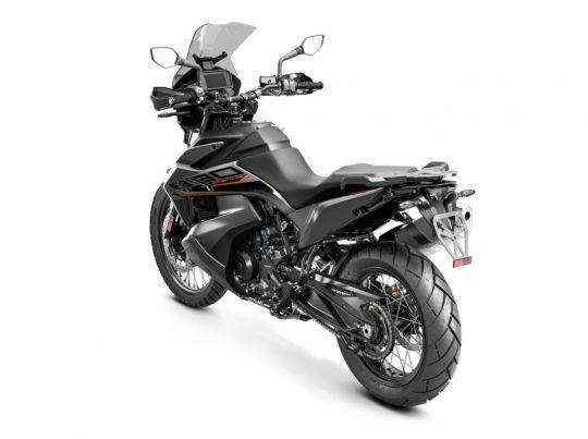 MOTORCYCLES KTM ADVENTURE MY21 890ADV 349187_89AdventureGREYMY21Rear-LeftMY21KTM890ADVENTUREModelRange-Studio