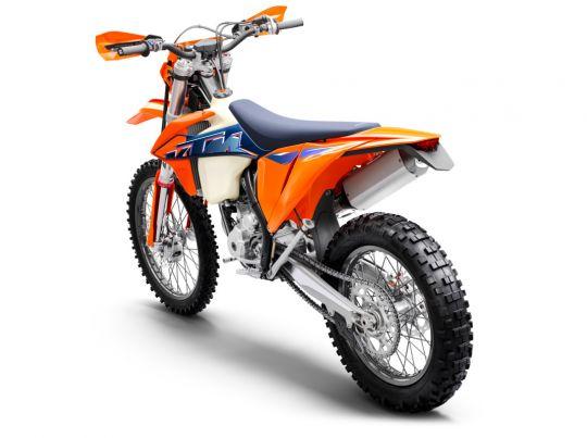MOTORCYCLES KTM ENDURO MY22 378292_350EXC-FMY22Rear-Left