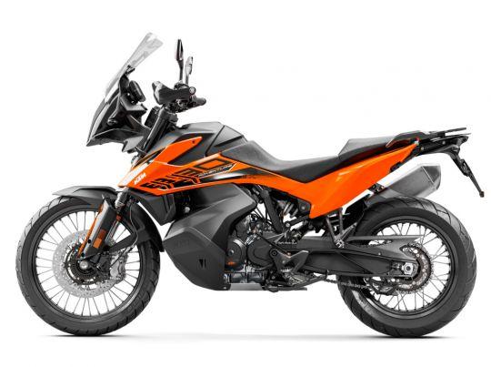 MOTORCYCLES KTM ADVENTURE MY21 890ADV 349189_890AdventureORANGEMY2190-LeftMY21KTM890ADVENTUREModelRange-Studio