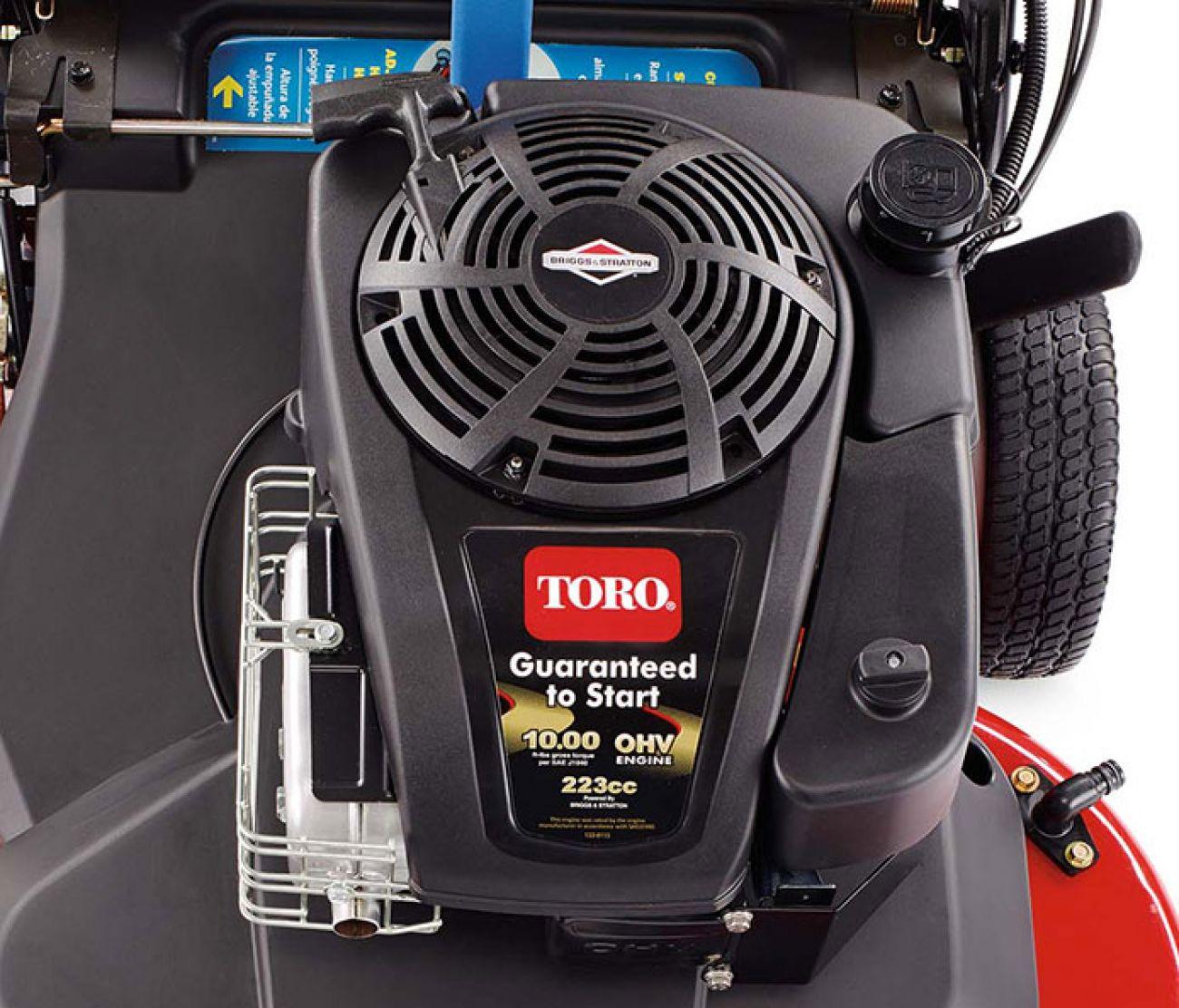 POWER_EQUIPMENT TORO WALK_BEHIND_MOWERS TORO-ENGINE-223CC
