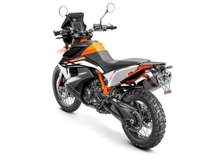 MOTORCYCLES KTM ADVENTURE MY21 890ADV_R 349181_890RAdventureMY21Rear-LeftMY21KTM890ADVENTUREModelRange-Studio