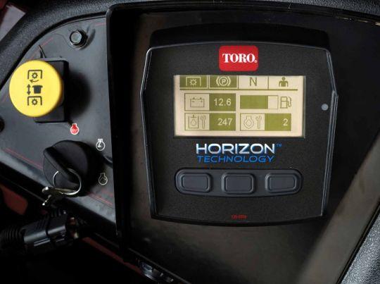 POWER_EQUIPMENT TORO PROFESSIONAL_ZERO_TURN HORIZONTECH2