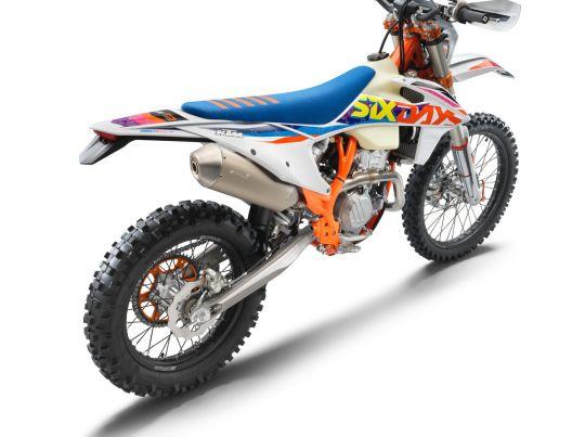 MOTORCYCLES KTM ENDURO MY22 386924_350EXC-FSixDays_rear_ri_MY22