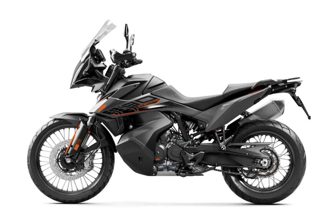 MOTORCYCLES KTM ADVENTURE MY21 890ADV 349183_890ADventureGREYMY2190-LeftMY21KTM890ADVENTUREModelRangE-Studio