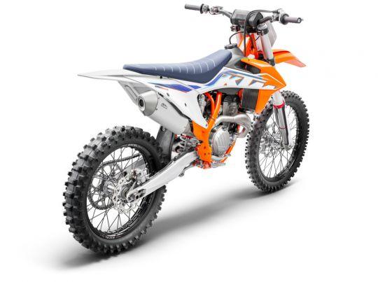 MOTORCYCLES KTM MOTOCROSS MY22 377773_350SX-FMY22Rear-right