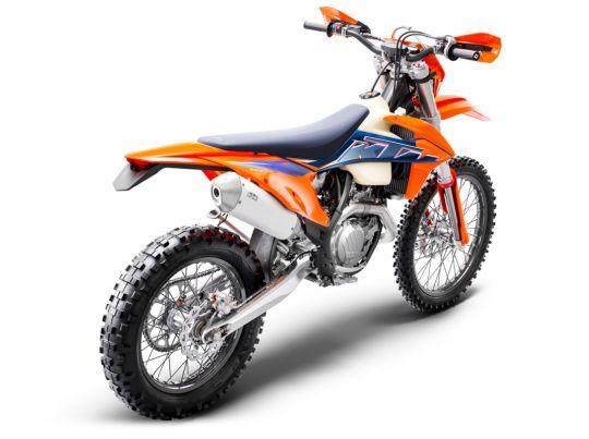 MOTORCYCLES KTM ENDURO MY22 378299_500EXC-FMY22Rear-Right