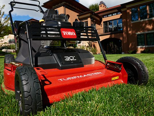 POWER_EQUIPMENT TORO WALK_BEHIND_MOWERS MULCHING_SYSTEM