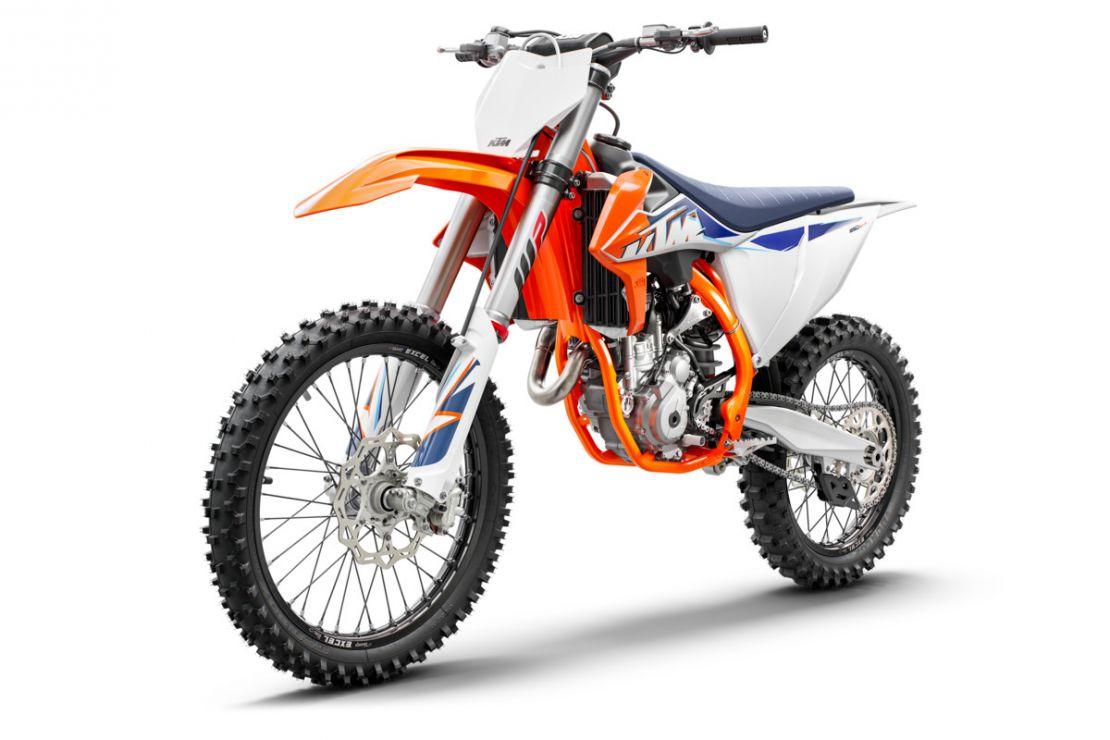 MOTORCYCLES KTM MOTOCROSS MY22 377764_250SX-FMY22Front-left
