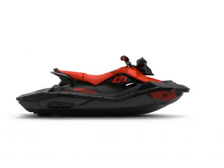 WATERSPORTS SEA-DOO_IMAGERY REC_LITE MY22 SEA-MY22-SPARK-3up-IBR-TRIXX-SS-90-Can-Am-Red-SKU00066NE00-Studio-RSide-NA-3300x2475
