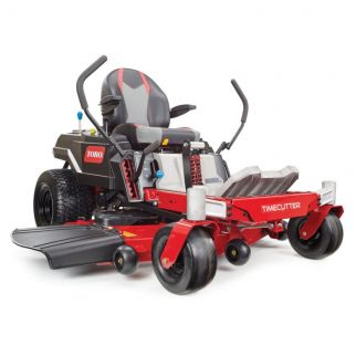 TIME-CUTTER ZERO TURN MOWER with MY-RIDE SUSPENSION