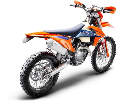 MOTORCYCLES KTM ENDURO MY22 378296_450EXC-FMY22Rear-Right