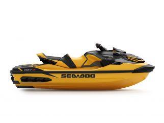 WATERSPORTS SEA-DOO_IMAGERY PERFORMANCE MY22 RXT-300 SEA-MY22-RXT-X-SS-300-Millenium-Yellow-SKU00010NC00-Studio-RSide-NA-3300x2475