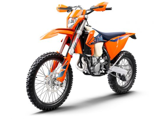 MOTORCYCLES KTM ENDURO MY22 378295_450EXC-FMY22Front-Left