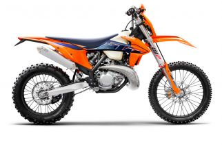 MOTORCYCLES KTM ENDURO MY22 378279_250EXCTPIMY2290-Right