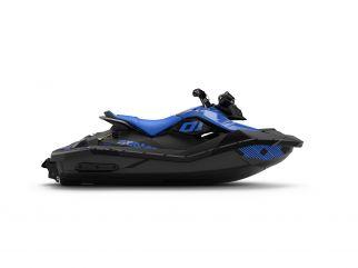 WATERSPORTS SEA-DOO_IMAGERY REC_LITE MY22 SEA-MY22-SPARK-2up-IBR-TRIXX-SS-90-Dazzling-Blue-SKU00065NF00-Studio-RSide-NA-3300x2475